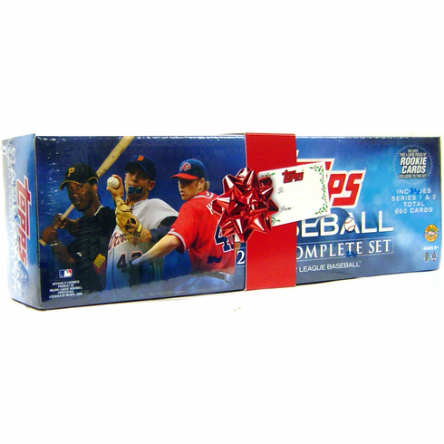 2009 Topps Baseball Card Set - Holiday Edition