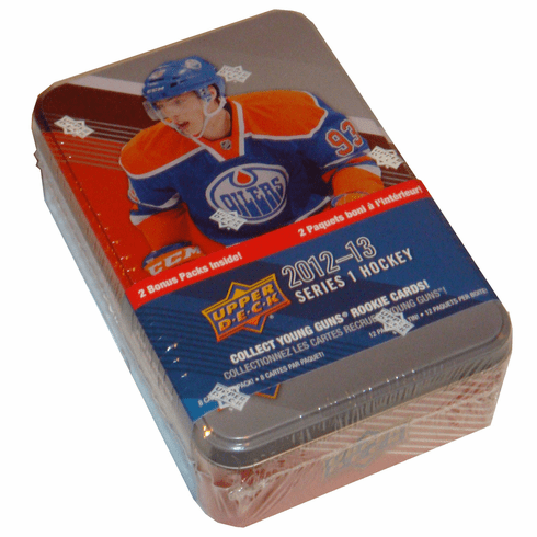 2012 / 2013 Upper Deck Series 1 Hockey Card Collectors Tin