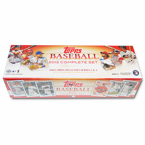 2013 Topps Baseball Card Factory Set