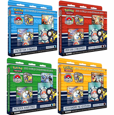 2015 Pokemon World Championship Deck Set (4 Decks)