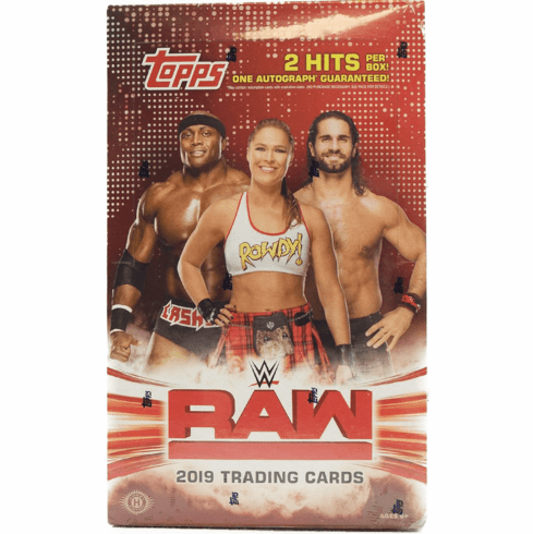 2019 Topps WWE RAW Wrestling Hobby Box