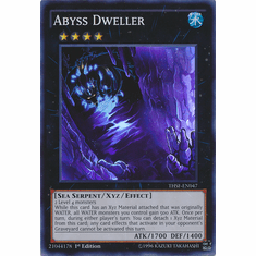 Abyss Dweller THSF-EN047 - YuGiOh The Secret Forces Super Rare Card