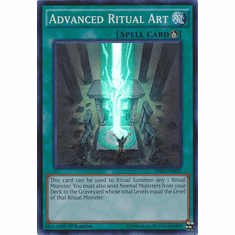 Advanced Ritual Art THSF-EN052 - YuGiOh The Secret Forces Super Rare Card