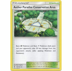 Aether Paradise Conservation Area 116/145 Uncommon - Pokemon Sun & Moon Guardians Rising Card