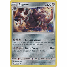 Aggron 67/111 Holo Rare - Pokemon Crimson Invasion Card