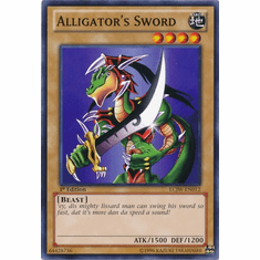 Alligator's Sword LCJW-EN012 - YuGiOh Joey's World Common Card