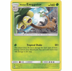 Alolan Exeggutor 2/131 Rare - Pokemon Sun & Moon Forbidden Light Card