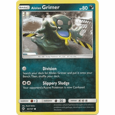 Alolan Grimer 83/147 Common - Pokemon Sun & Moon Burning Shadows Card