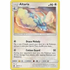Altaria 80/111 Rare - Pokemon Crimson Invasion Card