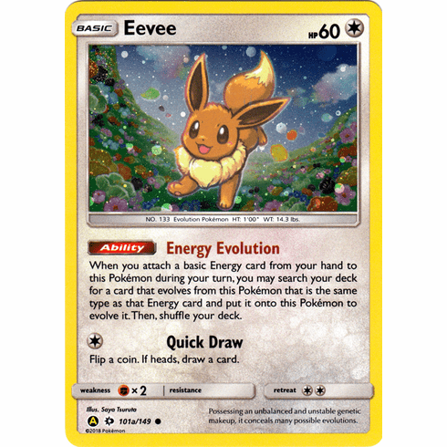 Alternate Art from Pikachu & Eevee Poke Ball Collection