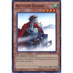 Altitude Knight THSF-EN046 - YuGiOh The Secret Forces Super Rare Card