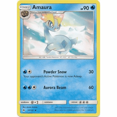 Amaura 27/131 Uncommon - Pokemon Sun & Moon Forbidden Light Card
