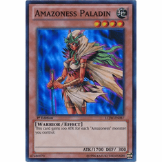 Amazoness Paladin LCJW-EN087 - YuGiOh Joey's World Super Rare Card
