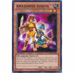 Amazoness Scouts LCJW-EN095 - YuGiOh Joey's World Common Card