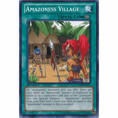 Amazoness Village LCJW-EN104 - YuGiOh Joey's World Common Card