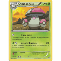 Amoonguss 13/114 Rare - Pokemon XY Steam Siege Card