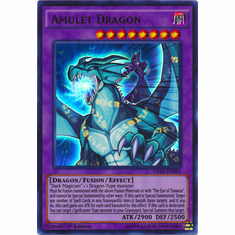 Amulet Dragon DRL3-EN043 Ultra Rare - YuGiOh Dragons of Legend Unleashed Card