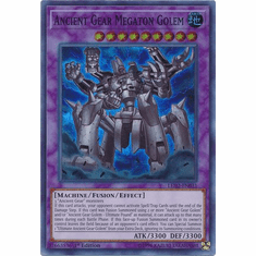 Ancient Gear Megaton Golem - LED2-EN031 - Super Rare 1st Edition