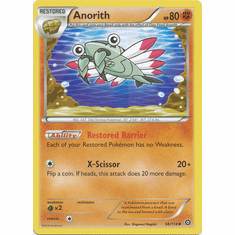 Anorith 56/114 Uncommon - Pokemon XY Steam Siege Card