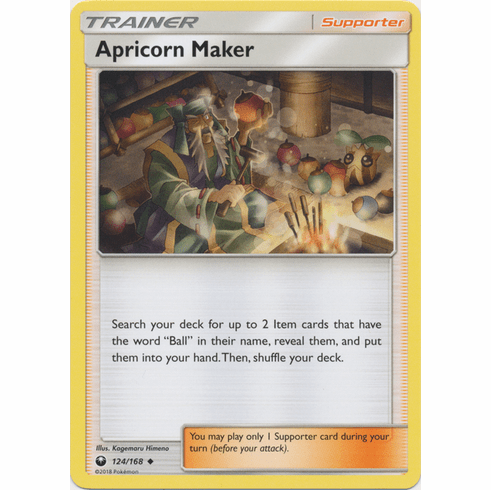 Apricorn Maker 124/168 Uncommon - Celestial Storm SM7 Pokemon Card