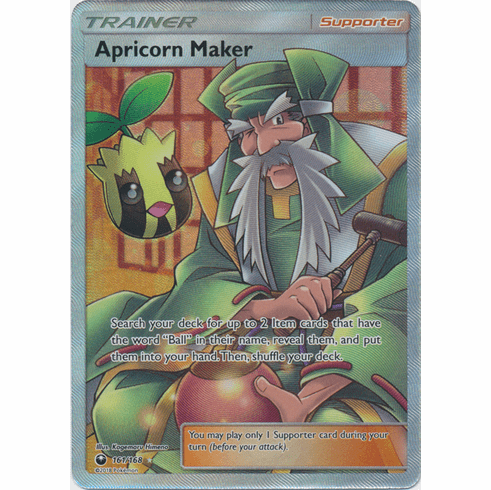 Apricorn Maker 161/168 Full Art - Celestial Storm SM7 Pokemon Card