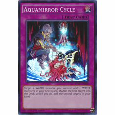 Aquamirror Cycle THSF-EN060 - YuGiOh The Secret Forces Super Rare Card