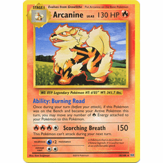 Arcanine 18/108 Rare - Pokemon XY Evolutions Single Card