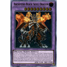 Archfiend Black Skull Dragon CORE-EN048 Ultra Rare - YuGiOh Clash of Rebellions Card