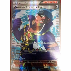 Archie's Ace in the Hole 157/160 Full Art - XY Primal Clash Single Card