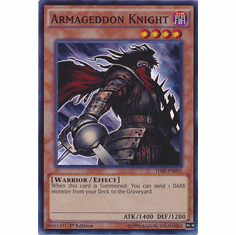 Armageddon Knight THSF-EN035 - YuGiOh The Secret Forces Super Rare Card