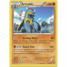 Armaldo 57/114 Rare - Pokemon XY Steam Siege Card