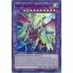 Armed Dragon Catapult Cannon - LED2-EN021 - Super Rare 1st Edition