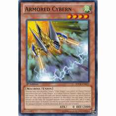 Armored Cybern SDCR-EN011 - YuGiOh Cyber Dragon Revolution Common Card