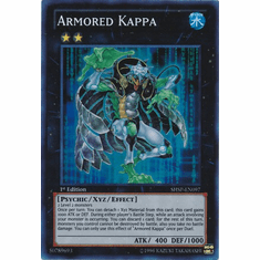 Armored Kappa SHSP-EN097 - YuGiOh Shadow Specters Super Rare Card