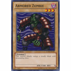 Armored Zombie LCJW-EN184 - YuGiOh Joey's World Common Card