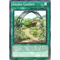 Aroma Garden CORE-EN062 Common - YuGiOh Clash of Rebellions Card