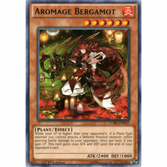 Aromage Bergamot CORE-EN037 Rare - YuGiOh Clash of Rebellions Card