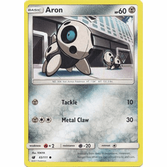 Aron 65/111 Common - Pokemon Crimson Invasion Card