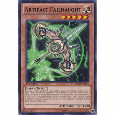 Artifact Failnaught PRIO-EN013 - YuGiOh Primal Origin Common Card
