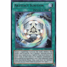 Artifact Ignition PRIO-EN060 - YuGiOh Primal Origin Ultra Rare Card