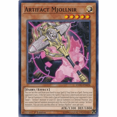 Artifact Mjollnir EXFO-EN028 Common - YuGiOh Extreme Force