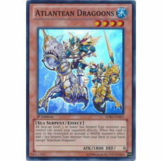 Atlantean Dragoons SDRE-EN002 - Realm of the Sea Emperor Super Rare Card