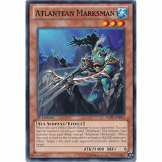 Atlantean Marksman SDRE-EN003 - Realm of the Sea Emperor Common Card