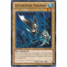 Atlantean Pikeman SDRE-EN005 - Realm of the Sea Emperor Common Card