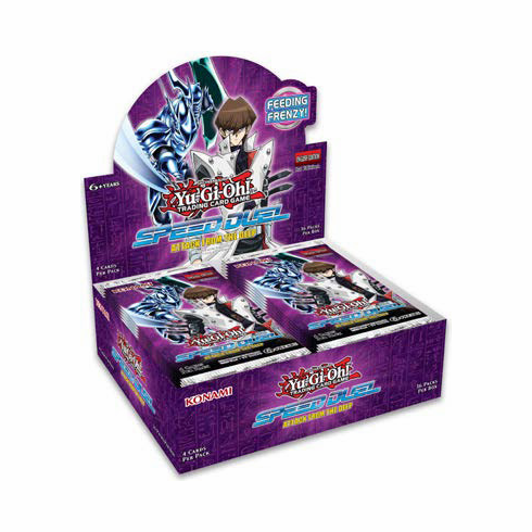 Attack from the Deep Speed Duel Booster Box (Estimated Release Date: May 31, 2019)