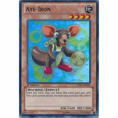 Aye-Iron HA07-EN036 - YuGiOh Knight Of Stars Super Rare Card