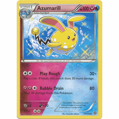 Azumarill 77/114 Uncommon - Pokemon XY Steam Siege Card