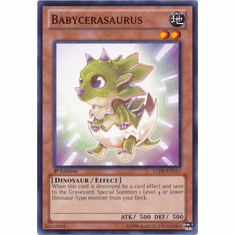 Babycerasaurus LCJW-EN157 - YuGiOh Joey's World Common Card
