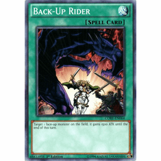 Back-Up Rider CORE-EN064 Common - YuGiOh Clash of Rebellions Card