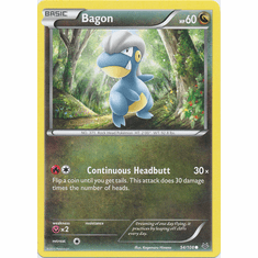 Bagon 54/108 Common - Pokemon XY Roaring Skies Card
